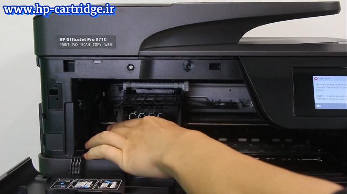 سطح جوهر در تانک پرینتر های HP