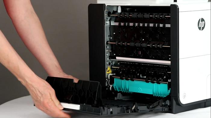 سرویس داپلکس پرینتر های HP ایراد چاپ