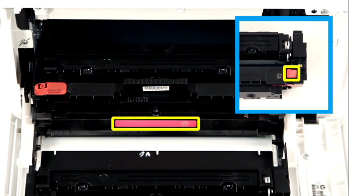 HP 416 A   رنگ قرمز با کد W2043A