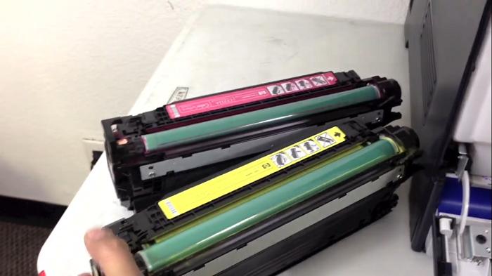 مشخصات کارتریج لیزری رنگی HP 507A