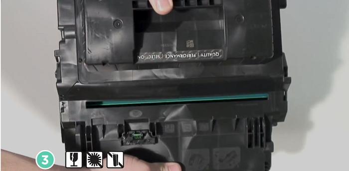 شارژ کارتریج HP 64A